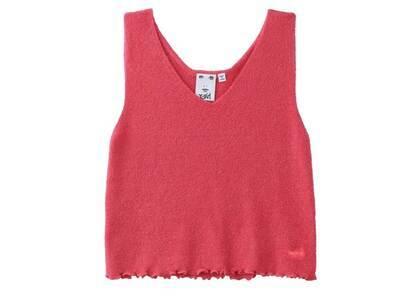 X-Girl V-Neck knit Top Pinkの写真