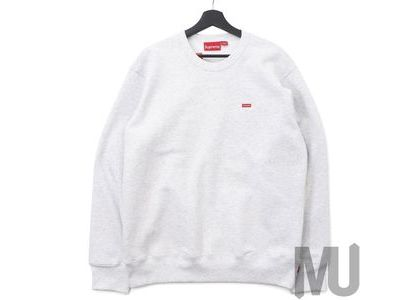 Supreme Small Box Crewneck (FW19) Ash Grey の写真