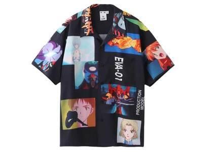 Evangelion × X-Girl Open Collar Shirt Multiの写真