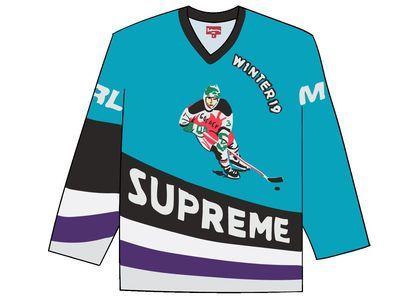 Supreme Crossover Hockey Jersey Tealの写真