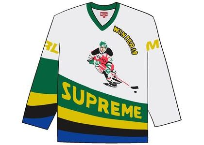 Supreme Crossover Hockey Jersey Whiteの写真