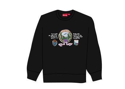 Supreme Mountain Crewneck Blackの写真