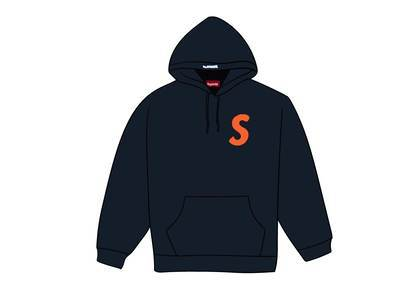 Supreme S Logo Hooded Sweatshirt (FW19) Navyの写真