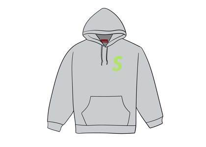 Supreme S Logo Hooded Sweatshirt (FW19) Ash Greyの写真