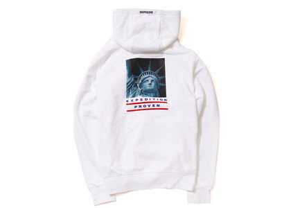 Supreme The North Face Statue of Liberty Hooded Sweatshirt Whiteの写真