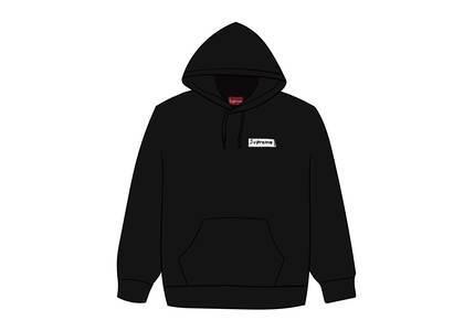 Supreme Stop Crying Hooded Sweatshirt Blackの写真