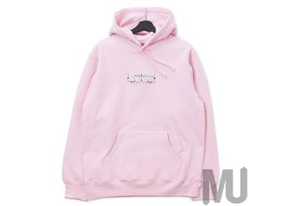 Supreme Bandana Box Logo Hooded Sweatshirt Pinkの写真
