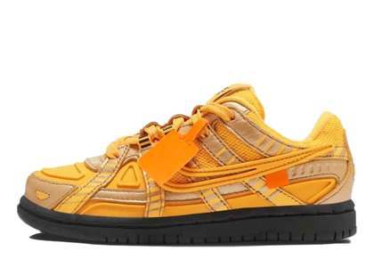 Off-White × Nike Air Rubber Dunk University Gold (PS)の写真