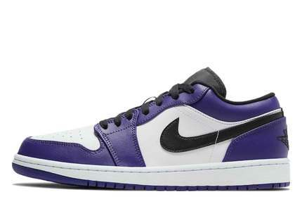 Nike Air Jordan 1 Low Court Purpleの写真
