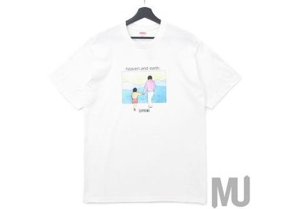 Supreme Heaven And Earth Tee Whiteの写真