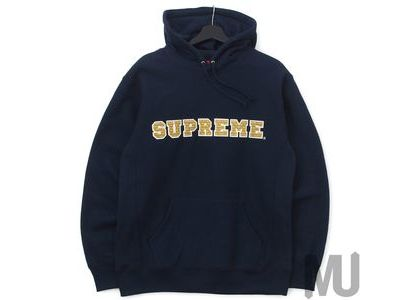 Supreme The Most Hooded Sweatshirt Navyの写真