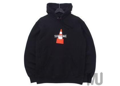 Supreme Cone Hooded Sweatshirt Blackの写真