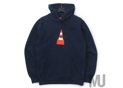 Supreme Cone Hooded Sweatshirt Navyの写真