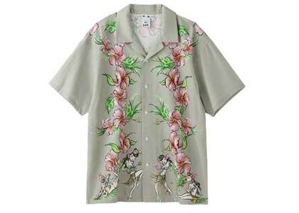Faline Boys × X-Girl Aloha Shirt Beigeの写真
