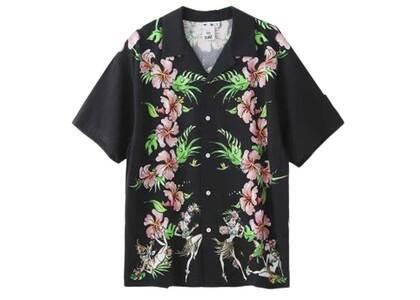 Faline Boys × X-Girl Aloha Shirt Blackの写真