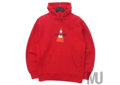 Supreme Cone Hooded Sweatshirt Redの写真