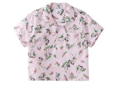 Faline Girls × X-Girl Aloha Shirt Pinkの写真