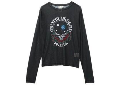 Grateful Dead × X-Girl Mesh Top Blackの写真