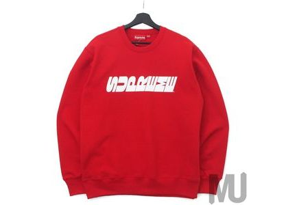 Supreme Breed Crewneck Redの写真