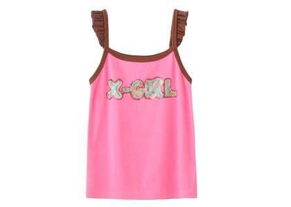 Ibuki × X-Girl Gel Logo Camisole Pinkの写真
