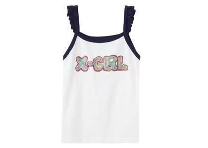 Ibuki × X-Girl Gel Logo Camisole Whiteの写真