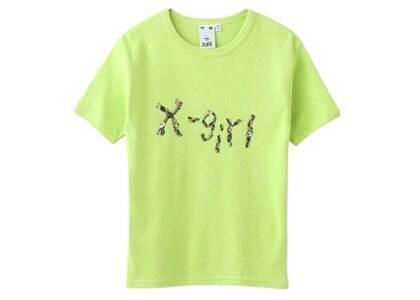 Ibuki × X-Girl Gel Logo S/S Baby Tee Light Greenの写真