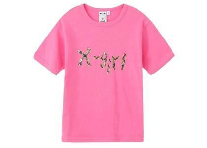 Ibuki × X-Girl Gel Logo S/S Baby Tee Pinkの写真