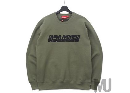 Supreme Breed Crewneck Light Oliveの写真