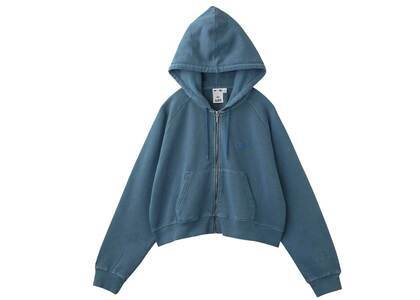 X-Girl  Zip-Up Hoodie Light Blueの写真
