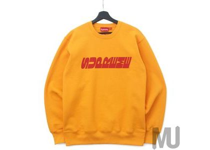 Supreme Breed Crewneck Tangerineの写真