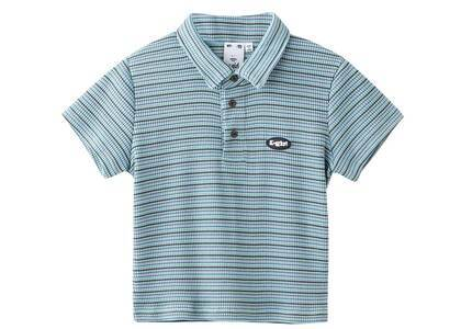 X-Girl Baby Polo Shirt Light Blueの写真