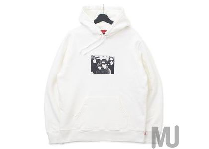 Supreme The Velvet Underground Hooded Sweatshirt Whiteの写真