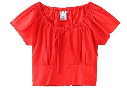 X-Girl Baby S/S Blouse Redの写真