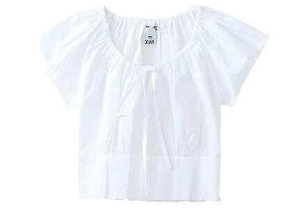 X-Girl Baby S/S Blouse Whiteの写真
