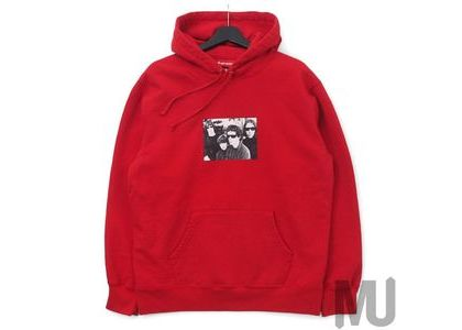 Supreme The Velvet Underground Hooded Sweatshirt Redの写真