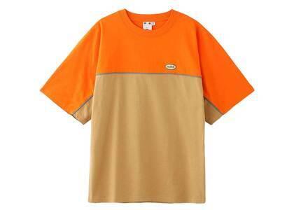 X-Girl Bi-Color H/S Tee Orangeの写真