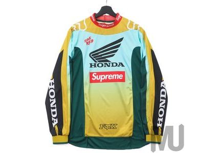 Supreme Honda Fox Racing Moto Jersey Top Mossの写真