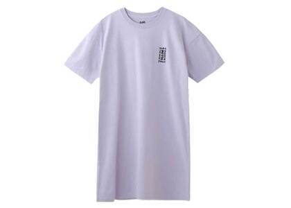 X-Girl Bon Dance S/S Tee Dress Light Purpleの写真