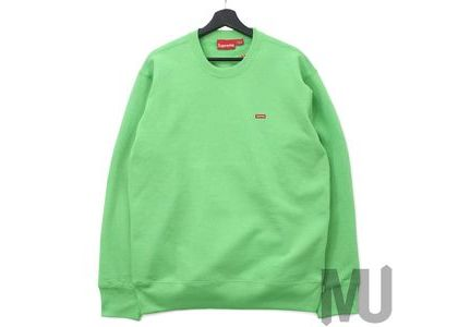 Supreme Small Box Crewneck (FW19) Bright Greenの写真