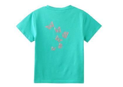 X-Girl Butterfly S/S Baby Tee Greenの写真