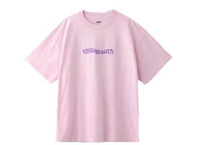 X-Girl Butterfly S/S Mens Tee Light Pinkの写真
