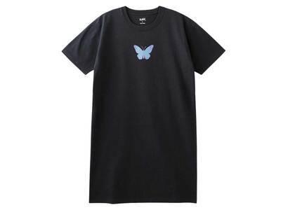 X-Girl Butterfly S/S Tee Dress Charcoalの写真