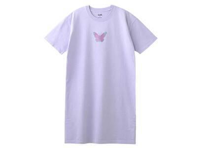 X-Girl Butterfly S/S Tee Dress Light Purpleの写真