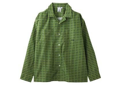 X-Girl Chaotic L/S Shirt Greenの写真