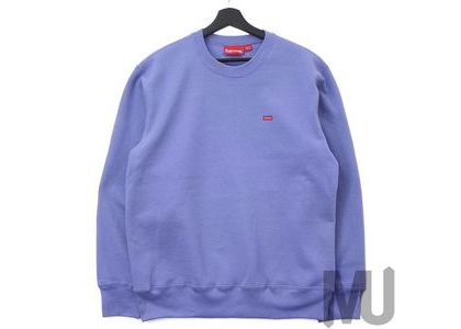 Supreme Small Box Crewneck (FW19) Light Violetの写真
