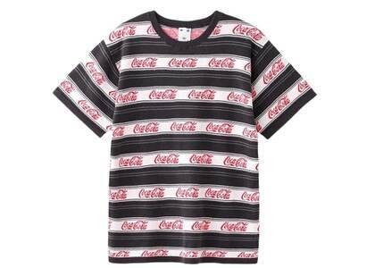 X-Girl Coca-Cola Striped S/S Tee Blackの写真