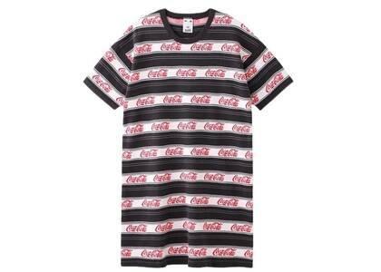 X-Girl Coca-Cola Striped S/S Tee Dress Blackの写真