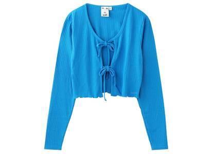 X-Girl Cropped Cardigan Blue (S-M)の写真