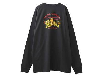 X-Girl Delivery L/S Tee Dress Charcoalの写真