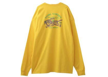 X-Girl Delivery L/S Tee Dress Yellowの写真